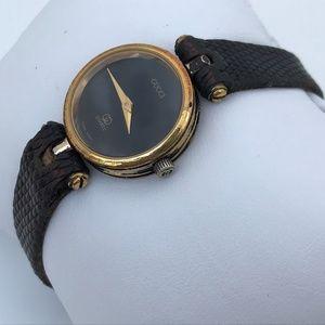 Authentic Gucci Vintage Rare Ladies Watch Lizard L